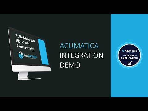 How TrueCommerce B2BGateway Integrates with Acumatica