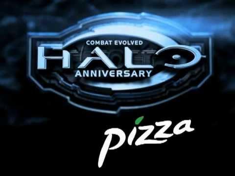 Halo Anniversary Edition Pizza Unboxed, Eaten, Unappreciated