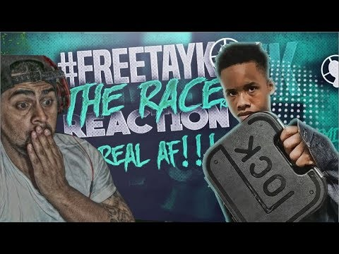 WHY DID I WATCH THIS!!!!  TAY K x THE RACE #FREETAYK REACTION