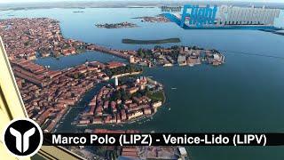 [MSFS 2020] Venice Marco Polo (LIPZ) to Venice-Lido (LIPV)   Cessna 172 VFR!