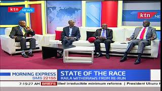 STATE OF THE RACE: What's next for Kenya after Raila's withdrawal from presidential race
