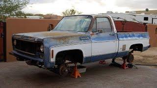 1979 Chevrolet Cheyenne Super 10 350 Restoration Project