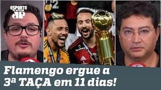 """""""Eu tô me ASSUSTANDO! O Flamengo NÃO TEM RIVAL, gente!"""" Veja DEBATE!"""