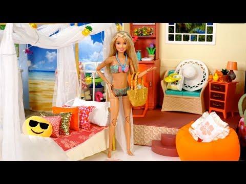 Rutina de Mañana de Verano en la Playa! Jugando con Muñecas y Juguetes de Titi