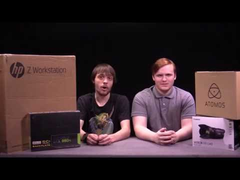HP z440 Workstation Unboxing  - Newsmakers Studio