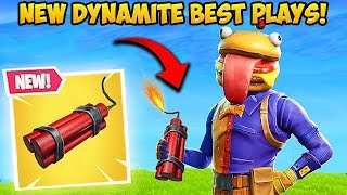 *NEW* DYNAMITE IS INSANE! - Fortnite Funny Fails and WTF Moments! #388