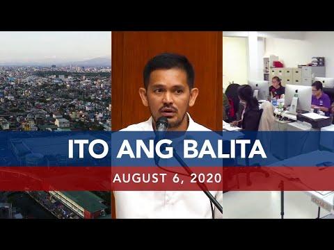 [UNTV]  UNTV: Ito Ang Balita   August 6, 2020