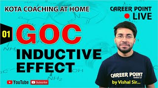GOC Live Class -1: Inductive Effect | Organic Chemistry | NEET & JEE | Vishal Tiwari (VT Sir) - Download this Video in MP3, M4A, WEBM, MP4, 3GP