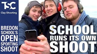 Bredon School pupils run an Open Shoot | TSC Clay Shooting