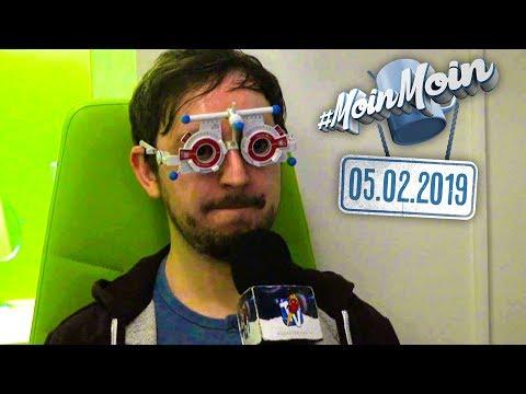 Endlich wieder klar sehen: Andreas braucht eine neue Brille | MoinMoin mit Andreas & Nasti