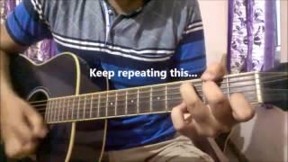 Ik Vaari Aa - Arijit Singh | Guitar Lesson For Beginners | Pritam | Raabta