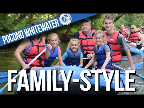 Family-Style Whitewater Rafting with Pocono Whitewater