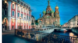 Amazing Drone Footage of Saint Petersburg