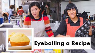 Pro Chefs Bake Muffins without Measuring Ingredients | Test Kitchen Talks | Bon Appétit