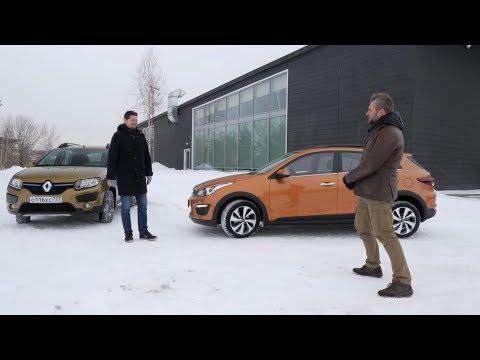 Renault Sandero Stepway Хетчбек класса B - тест-драйв 5