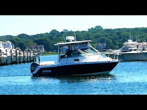 Robalo 265 Cuddy Cabinvideo