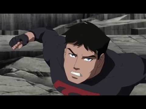 Young Justice   Lobo vs Nightwing, Superboy, Artemis and Outsiders