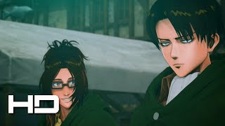 ATTACK ON TITAN PS4 Levi Joins The Fight  Walkthrough Gameplay Cutscene