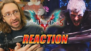 MAX REACTS: Devil May Cry 5 - New Gameplay/Music Trailer