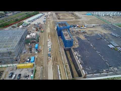 新吉工業區 空拍建廠