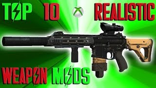 Fallout 4 Top 10 Realistic Weapon Mods