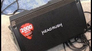 NAMM '19 - Headrush FRFR-108 Demo