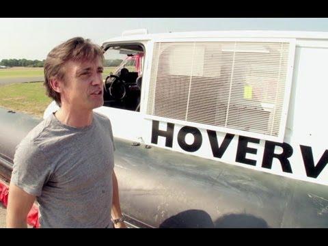 Richard Hammond on the Hovervan | Behind the scenes | Top Gear