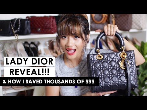 BEST BARGAIN FIND EVER!!! LADY DIOR REVEAL! (And what it fits + mod shots)