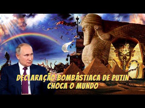 O PRESIDENTE RUSSO FEZ UMA DECLARAO CHOCANTE!