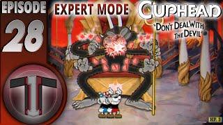 CupHead Expert Mode (28) | Snake Eyes