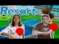 Wii Sports Resort Jogando Pingue Pongue