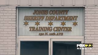 Jones County Sheriff's Dept. collection supplies for Hurricane Laura victims