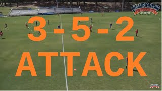 Attacking from a 3-5-2 Formation - Jay Entlich
