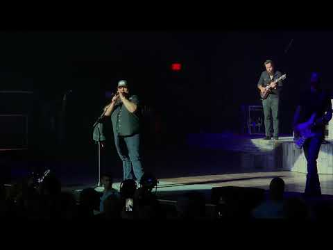 "Luke Combs ""Beer Never Broke My Heart"" Live"