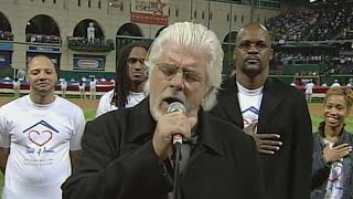WS2005 Gm3: Michael McDonald performs national anthem
