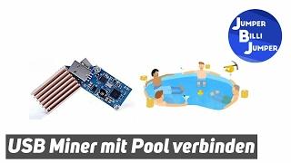 USB Miner mit Pool verbinden - emarks minen - bitcoin mining tutorial deutsch