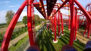 Rollercoaster MAYAN Energylandia Zator/GoPro/