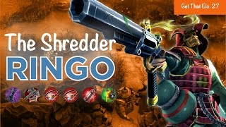 Vainglory - Get That Elo EP 027: ‬The Shredder Ringo Gameplay (Update 1.19)
