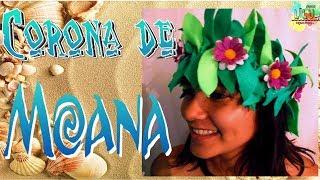 Corona MOANA  De Fieltro | DIY