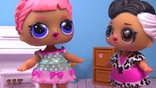 Куклы ЛОЛ LOL Surprise ГЛЕМ ЛЕДИ В ШКОЛЕ Мультик Игрушки Сюрприз видео для детей Вероничка Лалалупси