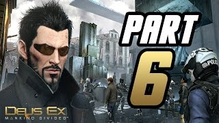 ► Deus Ex: Mankind Divided   #6   Exo-suit!   CZ Lets Play / Gameplay [1080p] [PC]