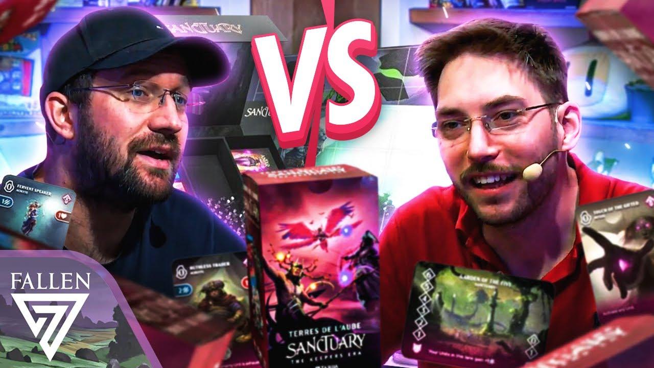 Sanctuary : une très bonne alternative de jeu deck building ! 🔥   Card Game
