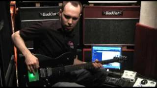Matthew Bellamy, Manson MB-1 Matt Bellamy (Muse) signature guitar demo