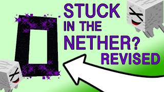 Stuck in the Nether? How To Get Out Without a Flint & Steel (Revised) | Still works in 2019!