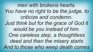 Hank Williams - Men With Broken Hearts Lyrics