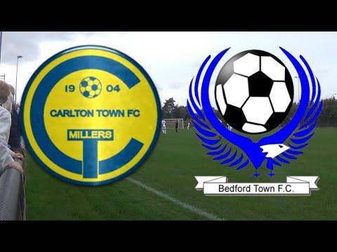 Carlton Town FC 3 v 2 Bedford Town FC Prelim Round (12/10/19)