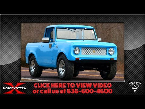 Video of '65 Scout 80 - Q53Q