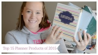 Top 15 Planner Products Of 2015