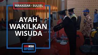 Momen Ayah di Makassar Hadiri Wisuda Anak yang Meninggal Kecelakaan, Mahasiswi Berprestasi IPK 3,9