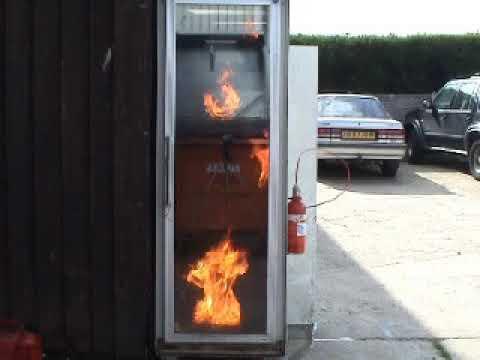 Server Room Gas Suppression System